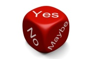 Yes No Maybe Dice